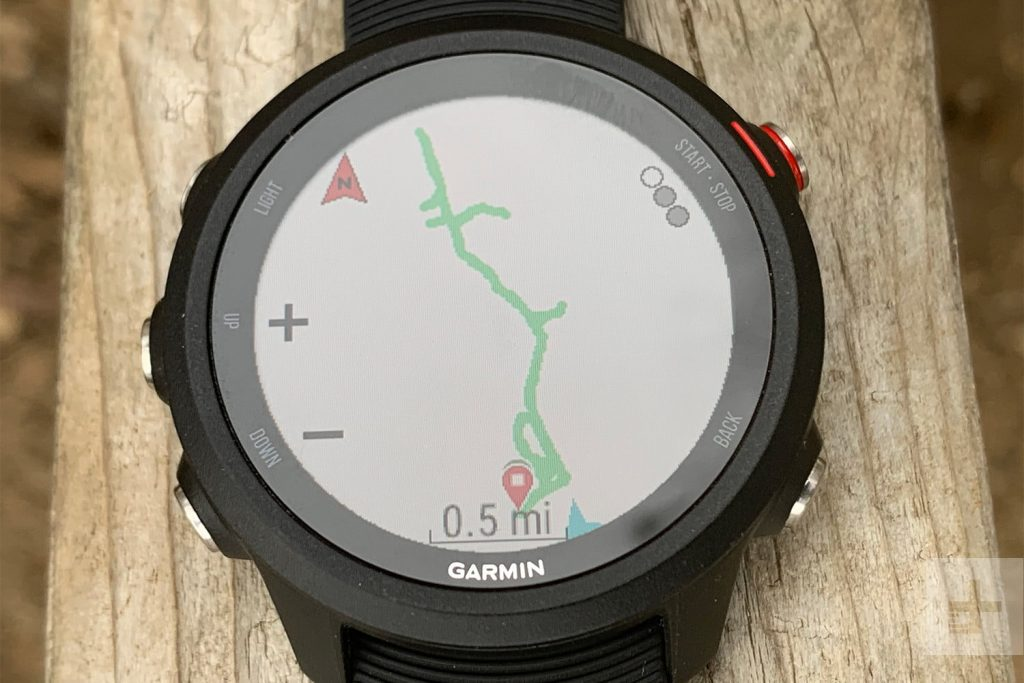 Garmin Forerunner 245 GPS location