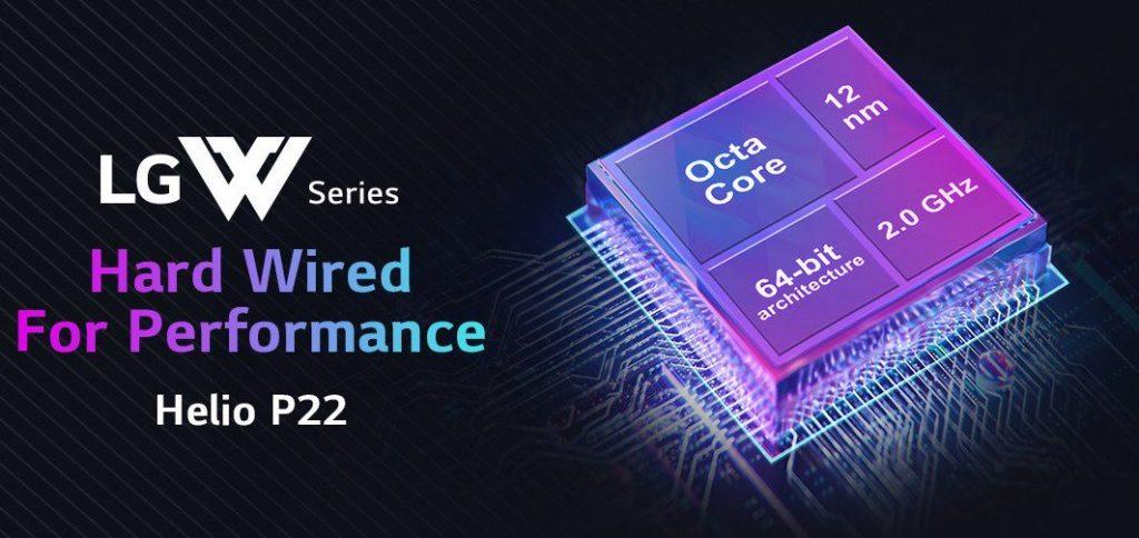 LG W30 processor