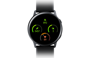 Exercise monitoring feature of  Galaxy Watch Active