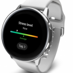 Stress monitoring system of Galaxy Watch Active