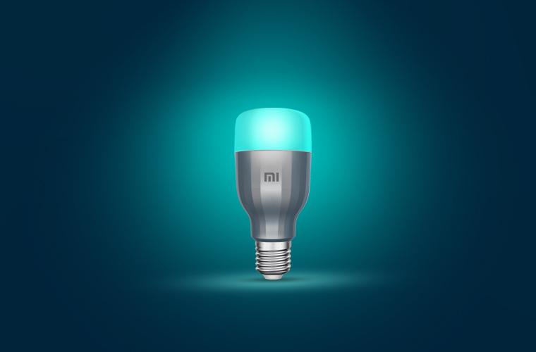 design of Mi LED Smart bulb