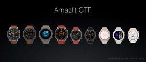 Amazfit GTR 42mm. Amazfit GTR 47mm. Amazfit GTR Variations.