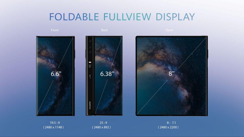 Huawei Mate X foldable