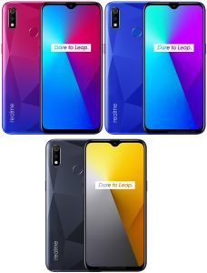 Realme 3i color variations