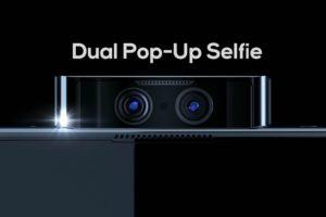 Dual Pop Up selfie Camera