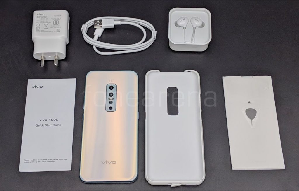 Package content of Vivo V17 Pro
