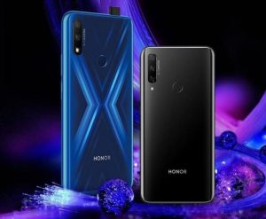 Honor 9X color variations