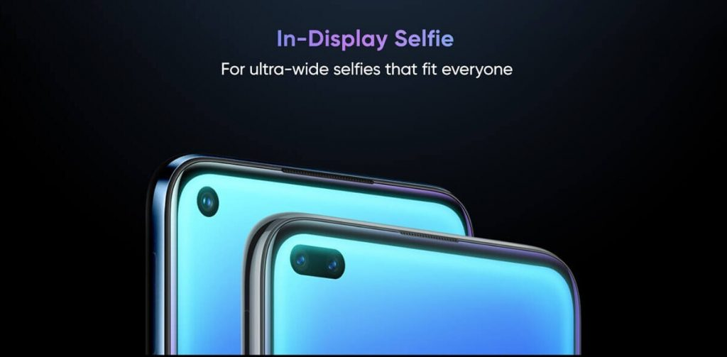 Realme 6 and 6 PRO have punch-hole display