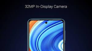 Redmi Note 9 PRO Max  front 32 MP camera