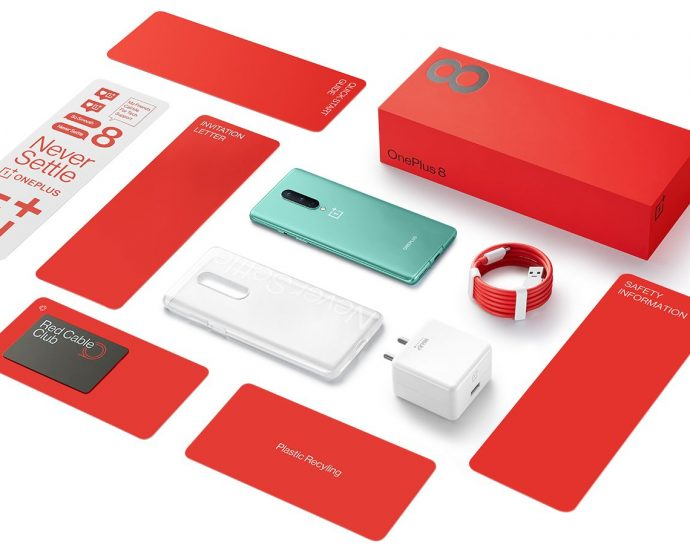 OnePlus 8 Box content