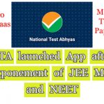 Jee Mains and Neet Postponed